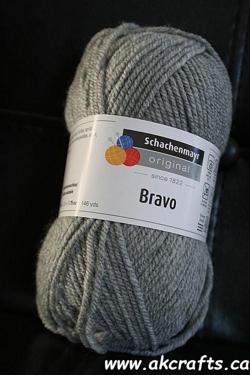 Schachenmayr SMC - Bravo - Acrylic Yarn - MediumGreyHeather