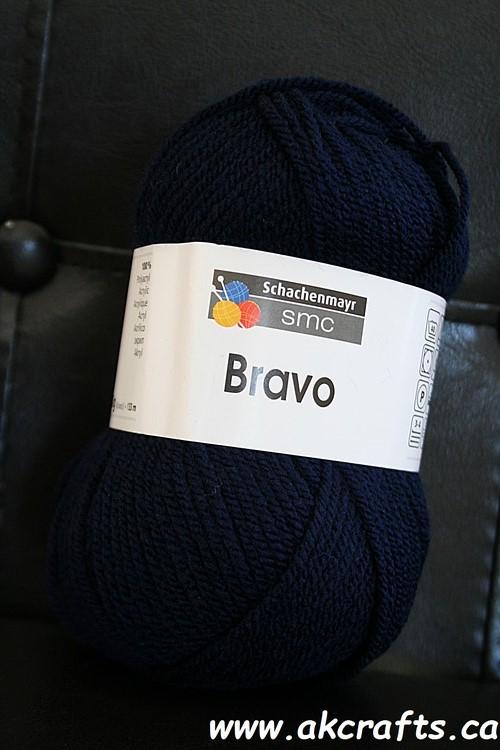 Schachenmayr SMC - Bravo - Acrylic Yarn - Navy