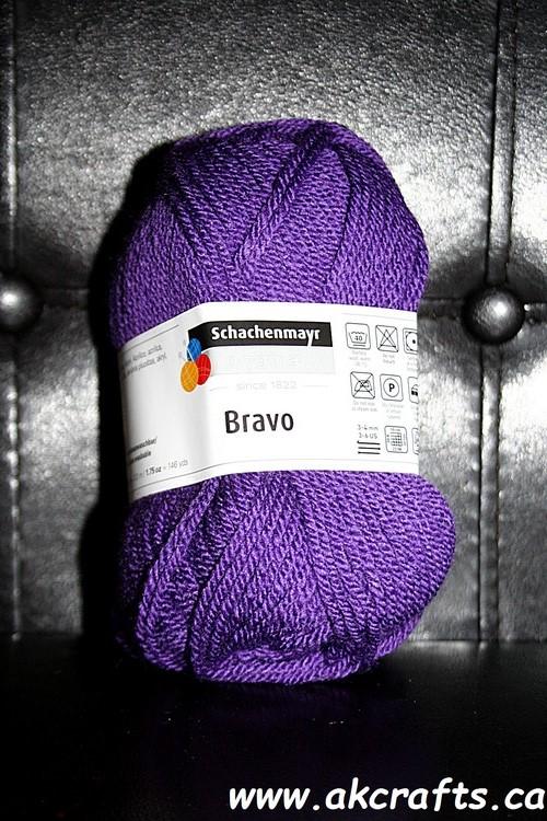Schachenmayr SMC - Bravo - Acrylic Yarn - Purple
