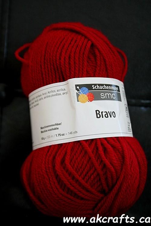 Schachenmayr SMC - Bravo - Acrylic Yarn - Ruby