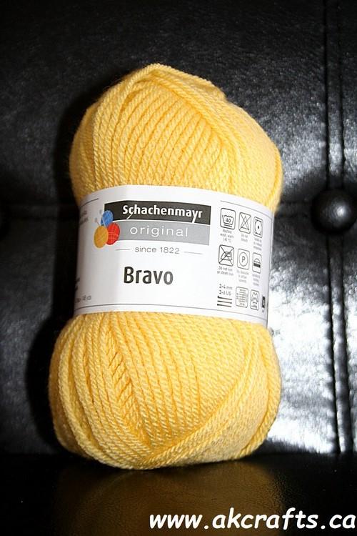 Schachenmayr SMC - Bravo - Acrylic Yarn - Yellow