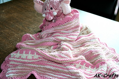 A Baby Blanket for Precious Angels Society