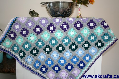 """Blue Moon"" Blanket"