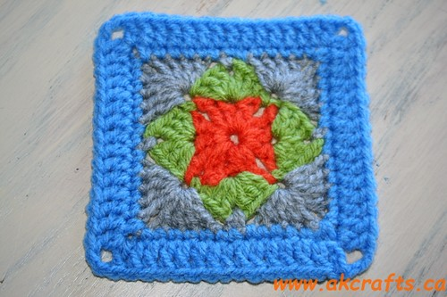 How to crochet Granny Square Savannah