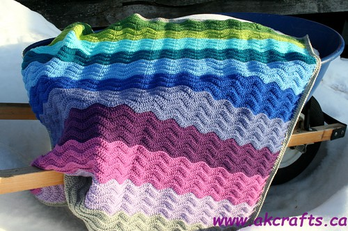 Patchwork Granny Love vs. Wavy Ripple Soothing